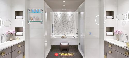 Tổng hợp những bộ phụ kiện phòng tắm cao cấp được ưa chuộng tại Inox Tovashu