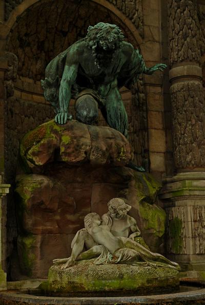 fontaine Médicis du Jardin du Luxembourg
