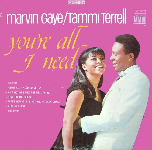 "Marvin Gaye & Tammi Terrell : Album "" You're All I Need "" Tamla ‎Records TS 284 [ US ]"