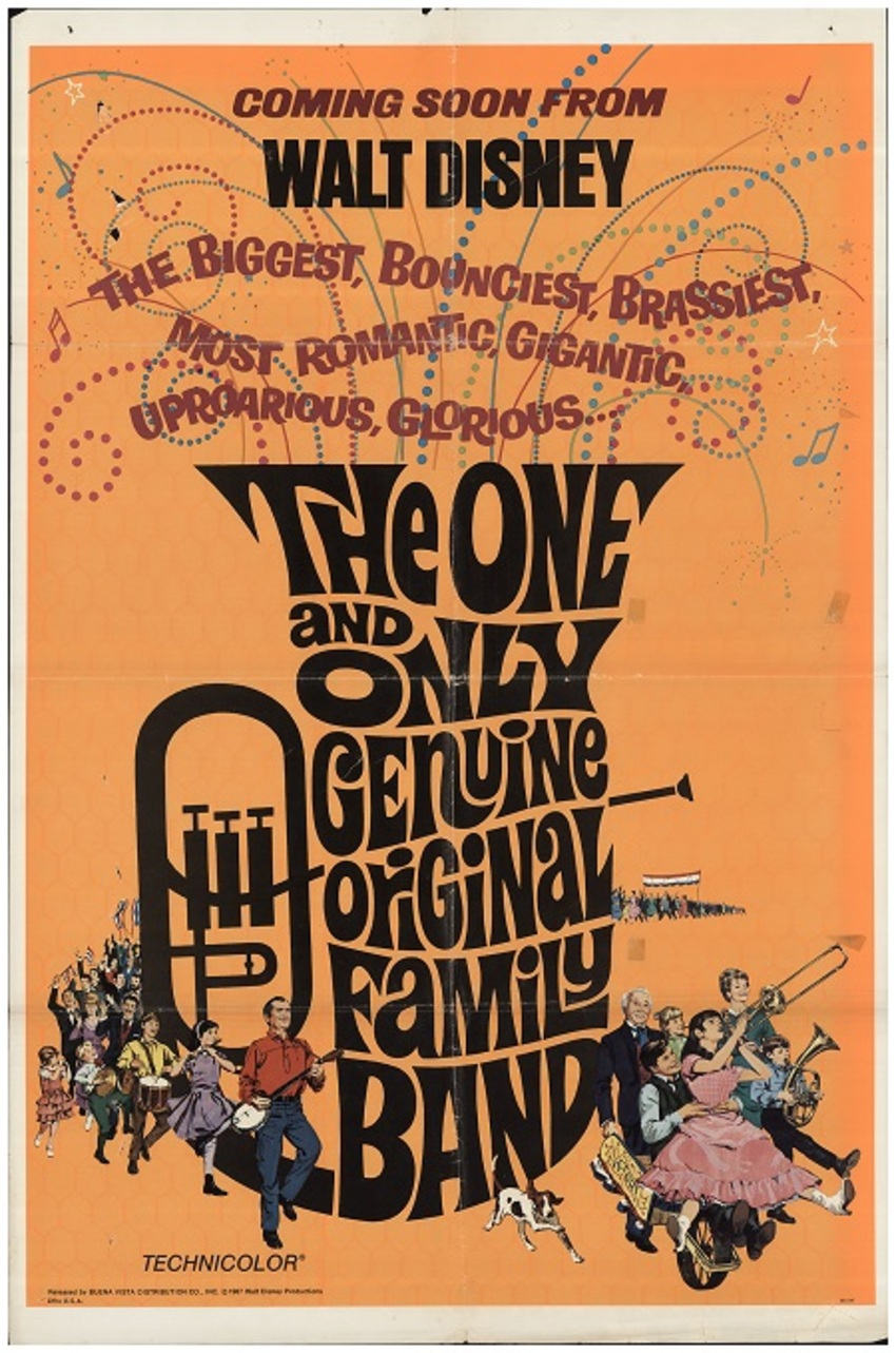 THE ONE AND ONLY GENUINE ORIGINALY FAMILY BAND box office usa 1968