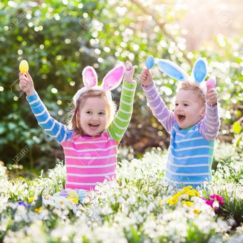 Pâques et les enfants