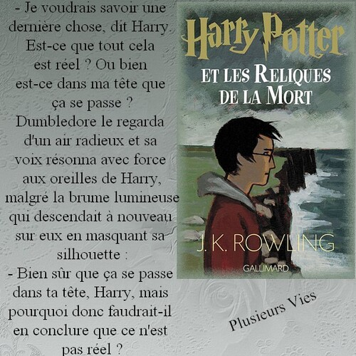 Citation Harry Potter 7 de J.K Rowling