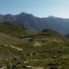 On laisse derrière le lac du Cardal pour remonter le vallon du Pla d'éras Oulètes d'et Cardal