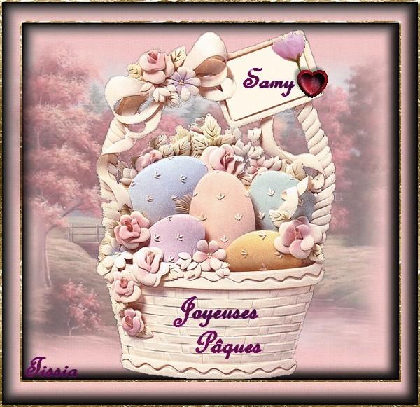 Joyeuses Pâques samy