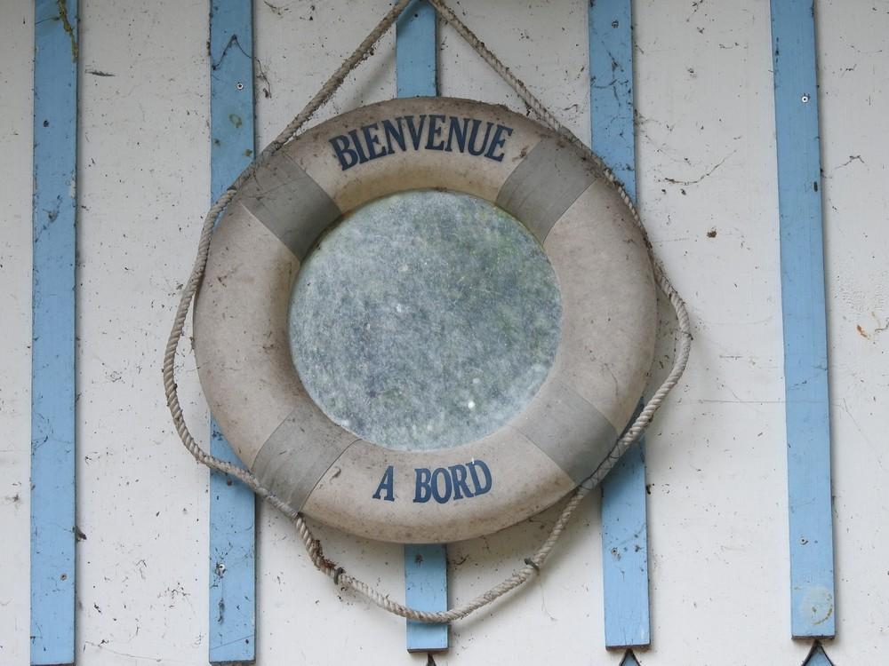 Le Port des Tuiles à Biganos...
