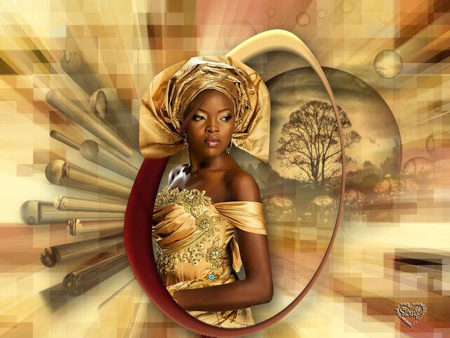 AF0017 - Tube femme africaine