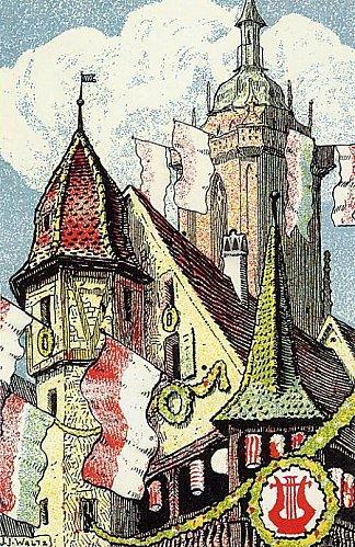 Colmar : Fête de la musique 1910