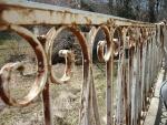 Repeindre le garde-corps en fer forgé