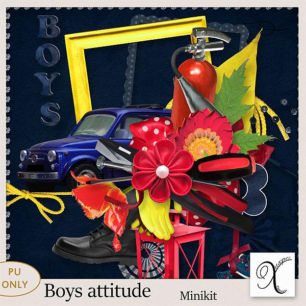 Boys attitude Minikit