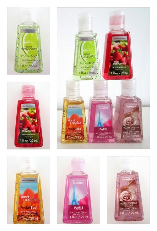 Bath and Body Works gels anti-bactériens