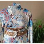 Kimono et ceinture Obi