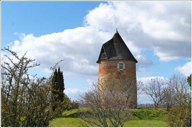 Le moulin à vent de Parleboscq
