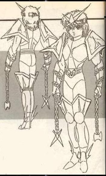 IX - Armure de la Couronne Australe (Corona Australis Cloth)