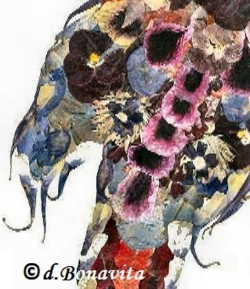 Mes Créations : Mon Perroquet Floral !