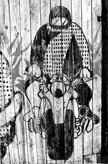 """Du graffiti de Pompei au pompier """"street art"""""""