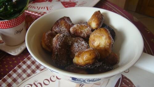 Recette express de beignets sucrés au brousse.