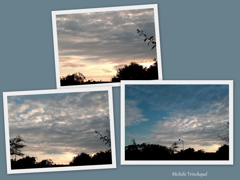 Le ciel au matin du 15 mai...