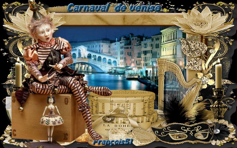 Defi pour Lilmaya ( Carnaval de Venise )