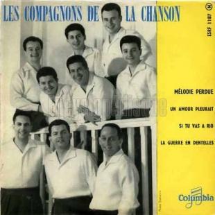 Les compagnons de la chanson, 1958