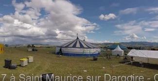 J-1 Voilà à quoi                                               ressemble le site du                                               rassemblement des 1 et 2                                               juillet !