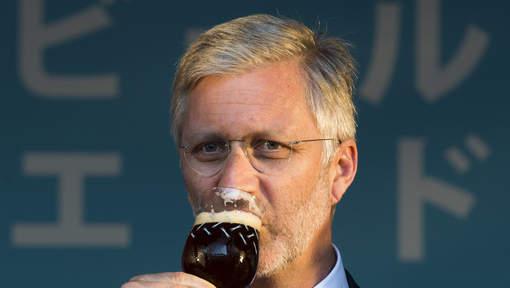 Philippe à la semaine de la bière belge