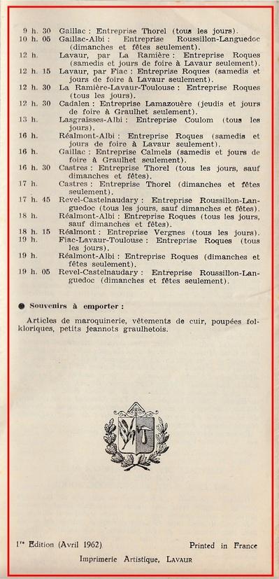 - Création du syndicat d'initiative