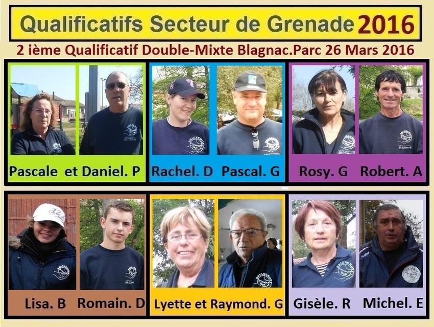 2 ième Qualificatif Doublettes Mixtes à Blagnac.Parc.