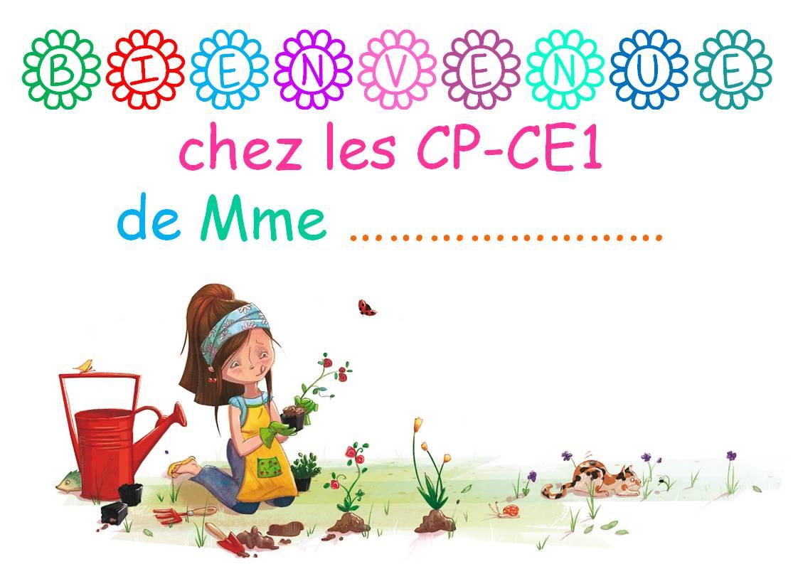 Top AFFICHE DE PORTE - La classe de Corinne JJ76