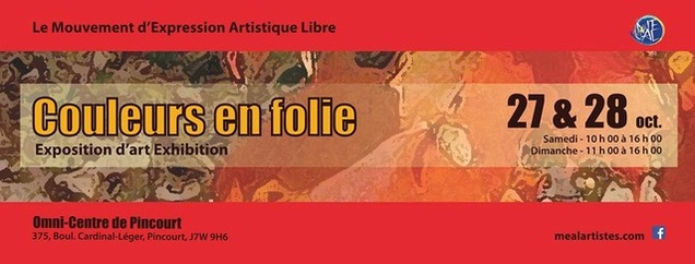 Exposition à Pincourt