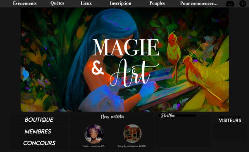 Pré-design #1 - Magie&Art