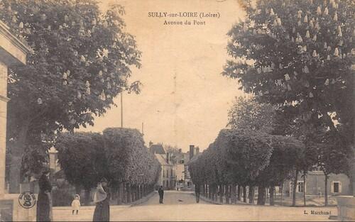 À l'époque où l'Avenue du Pont n'était pas encore l'Avenue de Béthune
