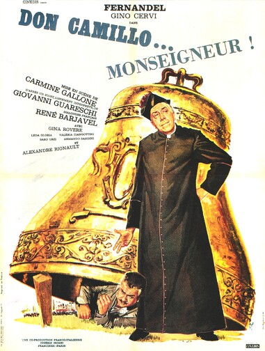 DON CAMILLO MONSEIGNEUR -  FERNANDEL BOX OFFICE 1961