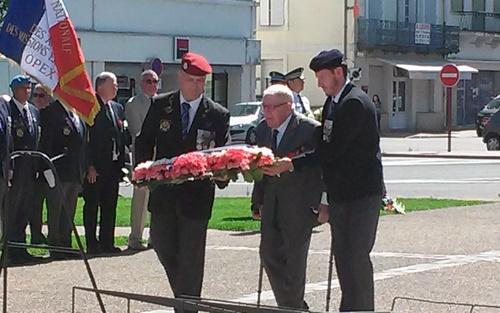 * Cérémonie commémorative du 77ème anniversaire de l'Appel du 18 JUIN 1940 du  général de GAULLE