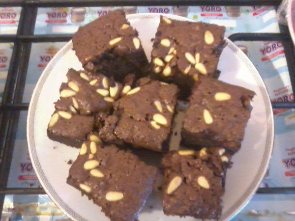 Fondants Chocolat Pignons