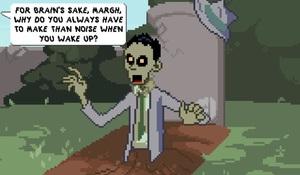 Jouer à Zombie society - Dead detective : graves & secrets