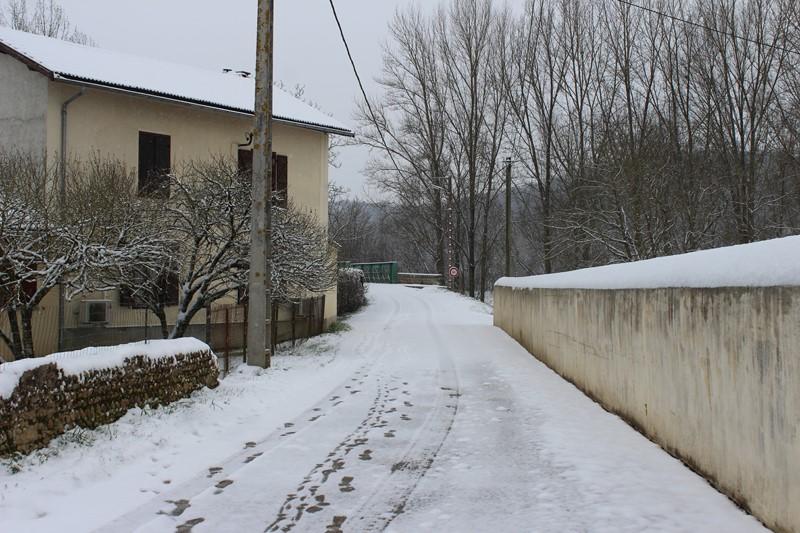 Le retour de la neige!