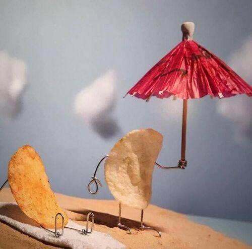 Terry Border ou l'art d'humaniser les objets.