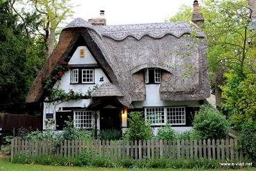 De merveilleux cottages anglais ...