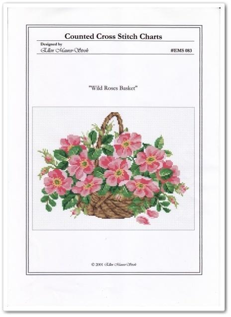 Wild Roses Basket