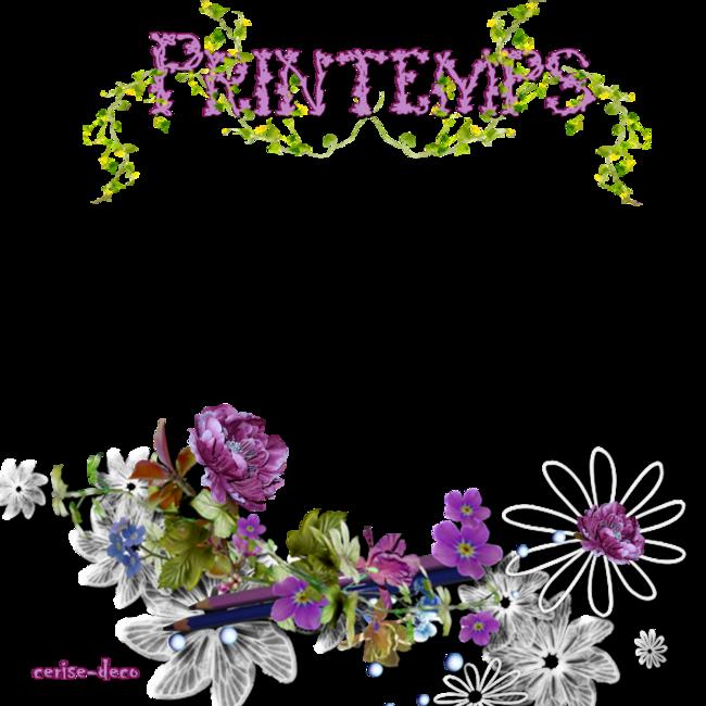 cadeau pour vos créations : cluster printemps