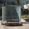 Enigmatique sculpture Kryptos