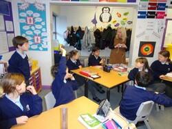 Activité culturelle en classe de 5ème année