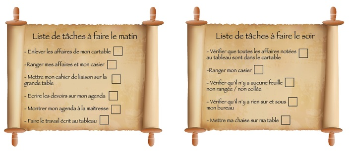 Les listes de tâches à faire