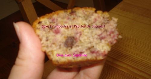 Des Mini Cakes aux Framboises et Pépites de Chocolat