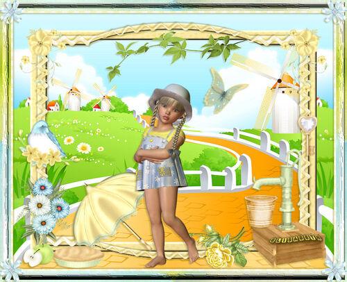 Ma version du Tuto de Titoune : Come Summer