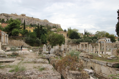 Promenade dans les rues d'Athènes (suite)