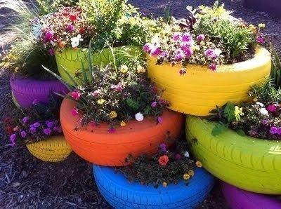 déco jardin avec récupération: