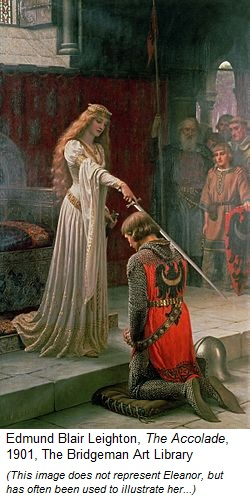 Eleanor of Aquitaine and her game of Thrones