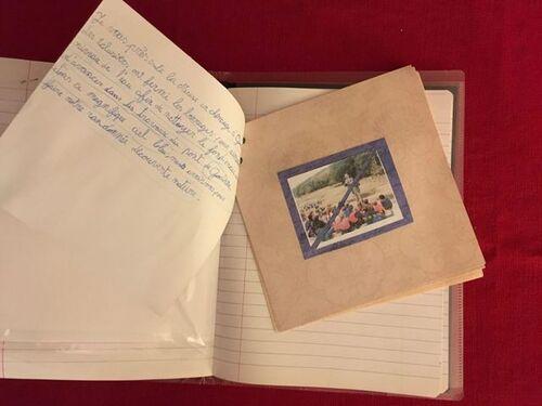 Un cahier de trésors