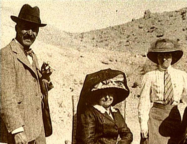 Toutankhamon. 1922